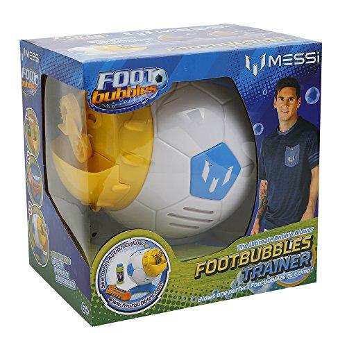 Foot Bubbles - Messi bubble maker, lanzador automático de burbujas (Giochi Preziosi MEF07000)