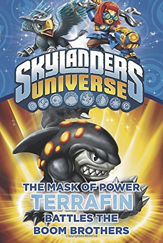 The Mask of Power: Terrafin Battles the Boom Brothers #4 (Skylanders Universe)