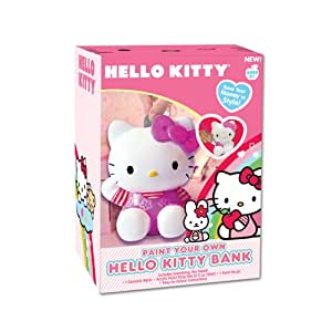 Hello Kitty Paint Your Own Bank