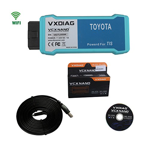 VXDIAG VCX NANO for TOYOTA TIS Techstream V10.30.029 Compatible with SAE J2534 WIFI Version For Toyota Scanner (Toyota Intelligent Tester Ii compare prices)
