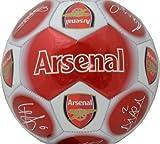 Arsenal Unisex Signature Football, Multi-Colour, Size 5