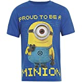 Character Kids Despicable Me 2 Crew Neck T Shirt Tee Short Sleeve Boys Juniors