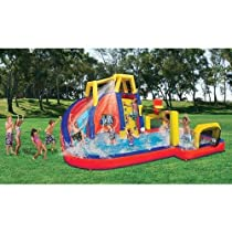 Banzai Aqua Sports Inflatable Water Park