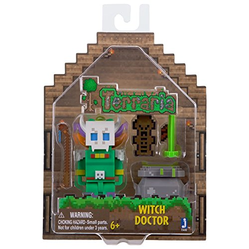 Terraria Series 1 Witch Doctor With Accessory Action Figure