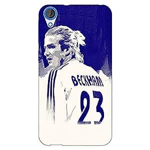 Jugaaduu Manchester United Beckham Back Cover Case For HTC Desire 820Q