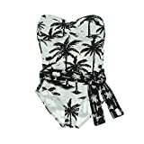 Tommy Bahama Womens Strapless Bandeau One-Piece Swimsuit
