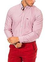 Mc Gregor Camisa Hombre (Rosa / Blanco)