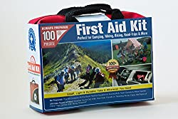 Always Prepared Small First Aid Kit - 100 Pieces