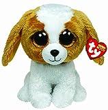 Ty 7136012 - Ty Plüsch - Beanie Boos - Plüsch Hund Cookie, 15cm