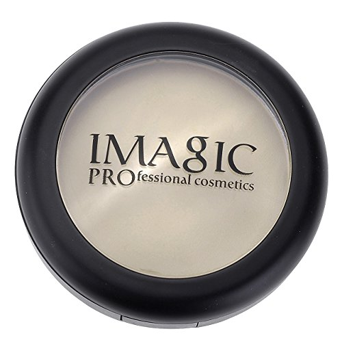 Ayliss - Imagic Poudre Pressee Pressed Powder Mat Compacte Perfection Fond de Teint Visage Cosmetique Feminine Naturelle (No.1)