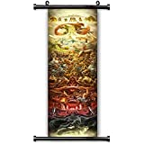 """1 X The Legend of Zelda 25th Anniversary Game Fabric Wall Scroll Poster (16"""" x 87"""") Inches by NA"""