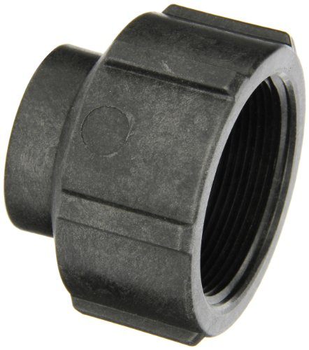 Banjo RC200-100 Polypropylene Pipe Fitting, Reducing Coupling, Schedule 80, 2 x 1
