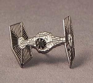 Metal Enamel Pin Badge Star Wars TIE Fighter Space Ship