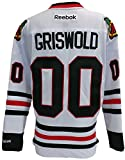 Chevy Chase Unsigned Chicago Blackhawks Griswold Reebok Premier Jersey X-Large