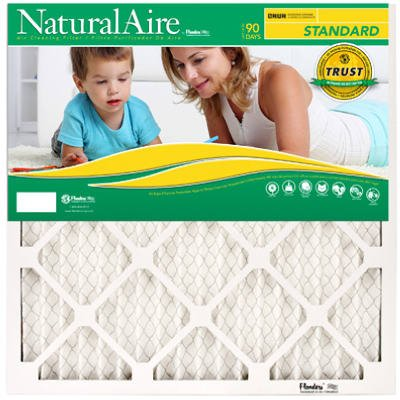 Ace Pleated Furnace Air Filter (14X24X1) 12 Pack