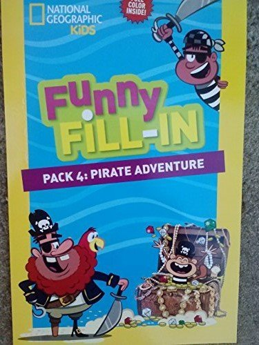 National Geographic Funny Fill-in ~ 'Mad Lib' Activity Pad ~ #4: Pirate Adventure