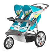 InStep Grand Safari Double Swivel Stroller