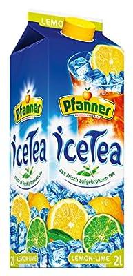 Pfanner Eistee Lemon -Lime, 6er Pack (6 x 2 l) von Pfanner bei Gewürze Shop