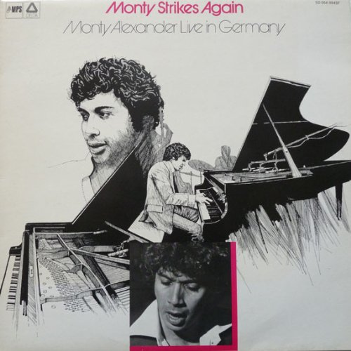 Monty Strikes Again, Monty Alexander Live in Germany by Monty Alexander, Ernest Ranglin, Eberhard Weber and Kenny Clare