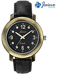 JAINX Analog Black Round Dial Youth Collection Watch For Men - JM189