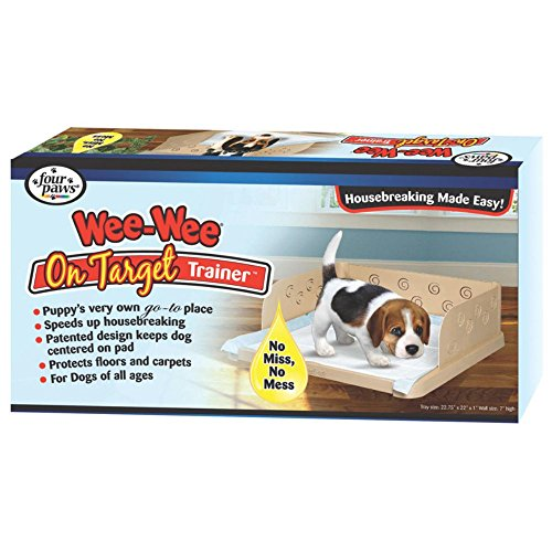 Four Paws Wee-Wee On Target Puppy Dog Trainer Tray (Standard Targets compare prices)