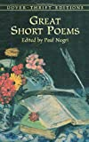 Great Short Poems (Dover Thrift Editions)