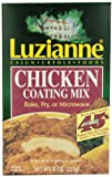 Luzianne Chicken Coating Mix, 8-Ounce Boxes (Pack of 6)