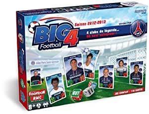 Anaton's Sport - 290602122302 - Jeu de Société - Big 4 Football Version PSG