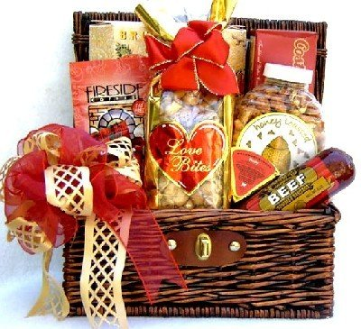 Sausage Cheese and Cookies Premium Meat and Cheese Gift Basket | Birthday or Christmas Gift