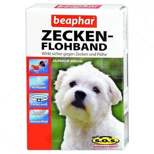 Artikelbild: Beaphar - Zecken-Flohband Junior für Hunde mit SOS - 60 cm