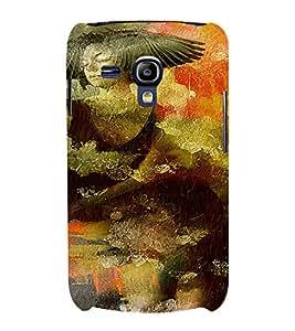 PrintVisa Vintage Art Girl 3D Hard Polycarbonate Designer Back Case Cover for Samsung Galaxy S3 Mini
