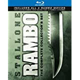 Rambo: The Complete Collector's Set (First Blood / Rambo: First Blood Part II / Rambo III / Rambo) [Blu-ray] (Color: color)