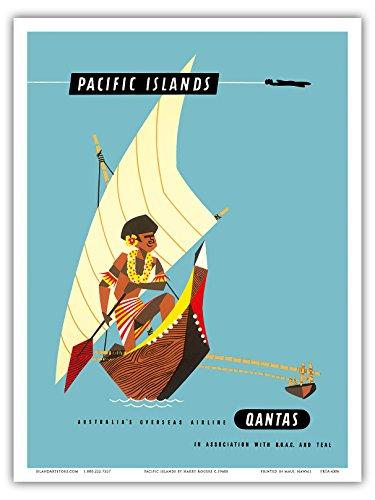 islas-del-pacifico-qantas-empire-polinesios-canoa-de-soporte-cet-vintage-airways-aerolinea-viaje-por