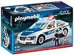 Playmobil 5184 Police Car with Flashi...