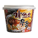 Japanese Style Fresh Cup Noodle Udon [Healthy, Convenient] Easy Cook Bowl in 3 Minutes / 7.79 oz per Meal (Pack of 6) - Dried Bonito Tuna (Katsuo) Flavor