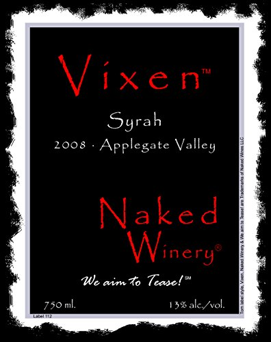 2008 Naked Winery Vixen Syrah 750 Ml