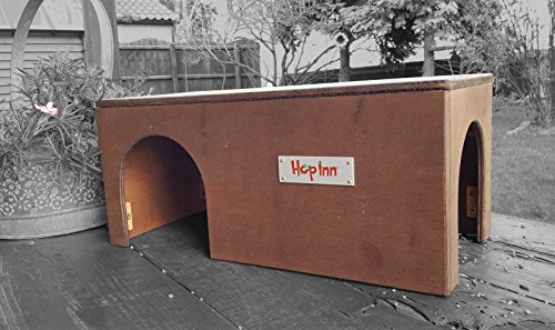 hop-inn-wooden-guinea-pig-house-shelter-tunnel-oak-40-cm-long-x-20-cm-wide-x-185-cm-high-indoor-or-o