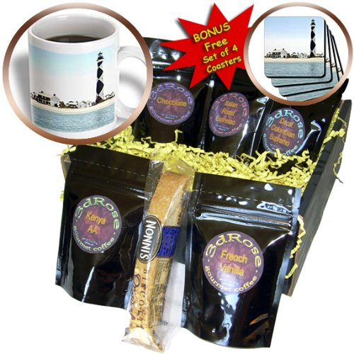 Cgb_93274_1 Danita Delimont - Lighthouses - North Carolina, Cape Lookout Lighthouse - Us34 Lse0035 - Lynn Seldon - Coffee Gift Baskets - Coffee Gift Basket