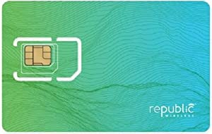 Republic Wireless Complete SIM Starter Kit - Prepaid Carrier Locked