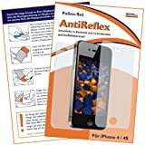 "mumbi Displayschutzfolie iPhone 4 4S Displayschutz ""AntiReflex"" mit R�CKSEITEvon ""mumbi"""