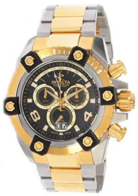 Invicta Reserve Mens Arsenal Swiss Chrono Gold tone Watch from INVICTA