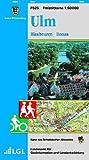 Ulm, Blaubeuren, Donau: Karte des Schwäbischen Albvereins  (Freizeitkarten 1:50000)