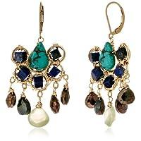 [アマンダ・ステレット] AMANDA STERETT 天然石デザインフックピアス F2613 Earrings