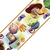 Toy Story 3 Buzz Woody Set of 4 Self-Stick Wall Borders