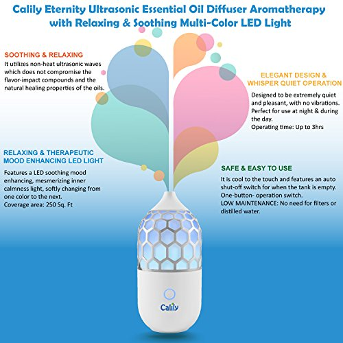 Calily™ Eternity Ultrasonic Essential Oil Diffuser