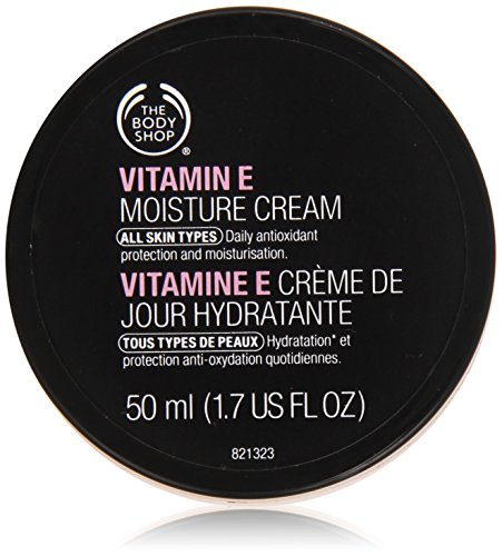 Il unisex Body Shop Vitamina E Moisture Cream, Vitamina E idratante 50ml, 1er Pack (1 x 50 ml)