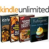 Insanely Low Carb Box Set - 200 Ketogenic Recipes: Breakfast, Lunch, Dinner, Snacks, Desserts, Cast Iron, Slow Cooker / Crockpot Recipes