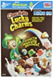 Lucky Charms Chocolate Cereal, 12-Ounce Boxes (Pack of 6)