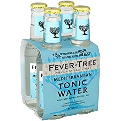 Fever Tree Mediterranean Tonic Water 4 x 200ML