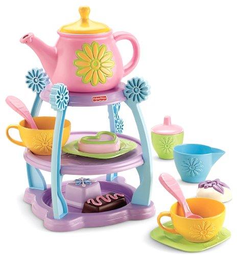 Fisher-Price Servin' Surprises Tea Party Set (Fisher Tea Set compare prices)